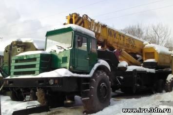 Автокран TADANO МКТТ-63