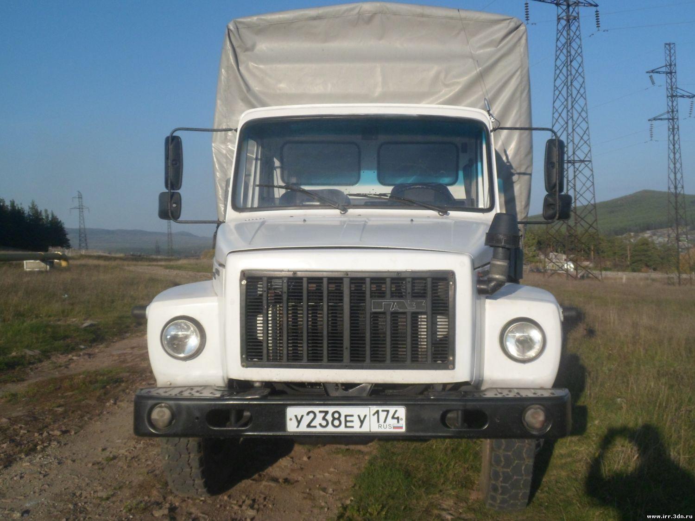 ГАЗ-3309 Борт-тенд